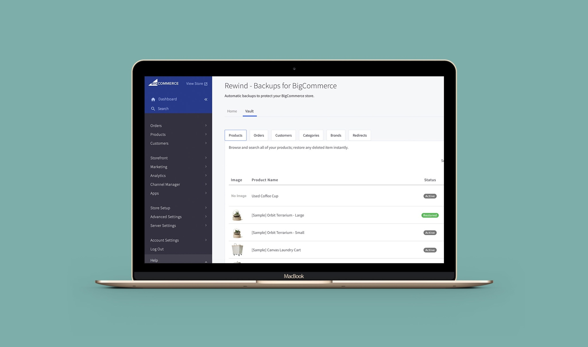 Additions to Your BigCommerce Rewind Vault