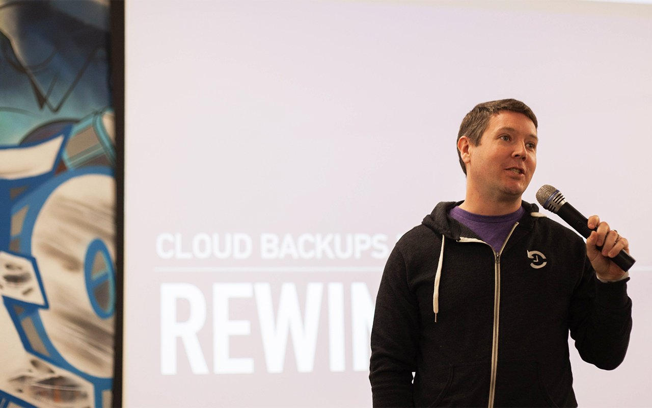 Mike Pottor CEO Rewind Presenting