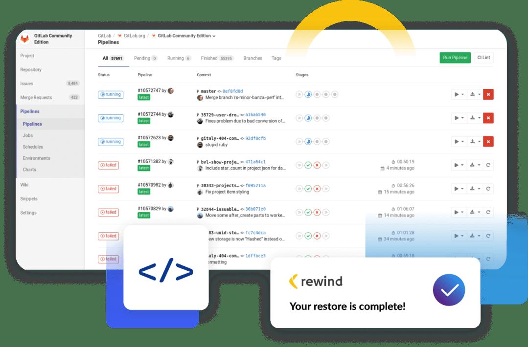 Backups for GitLab