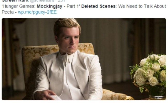 Did You See This New Scenes Released From Hunger Games
