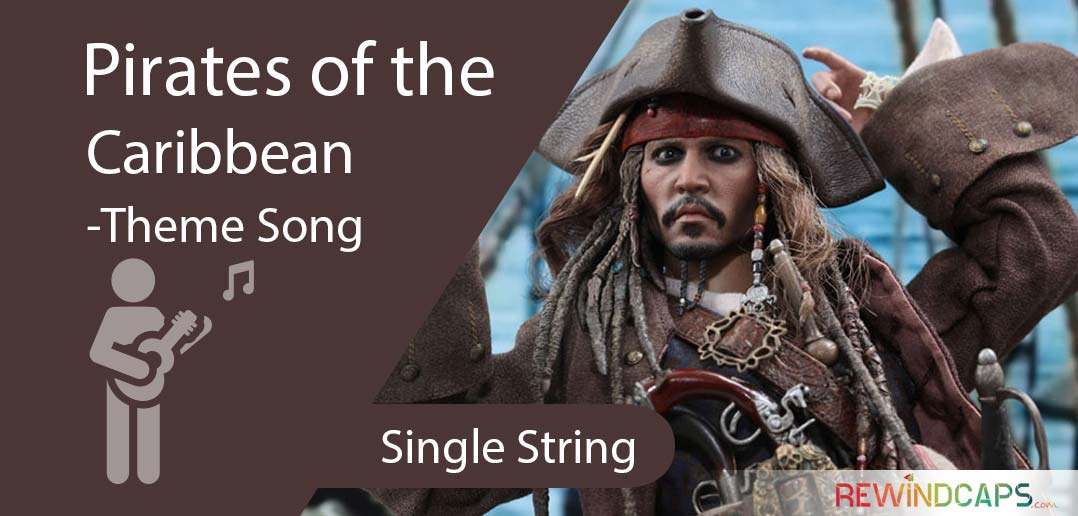 Jack Sparrow Pirates Of The Caribbean Guitar Tabs On Single