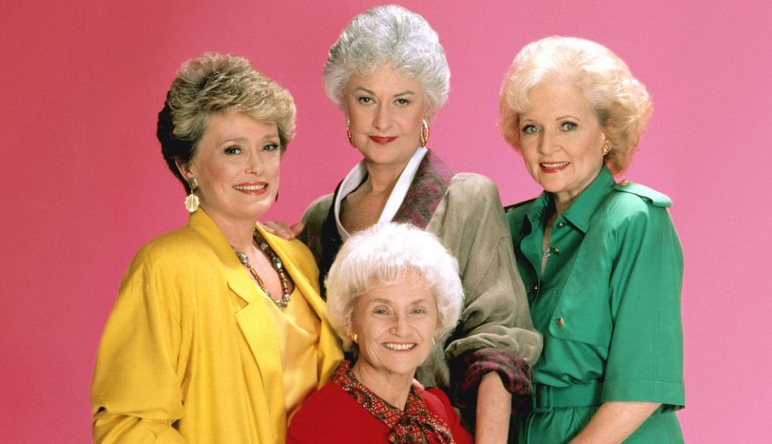 The Golden Girls: Rue McClanahan, Bea Arthur, Betty White, Estel