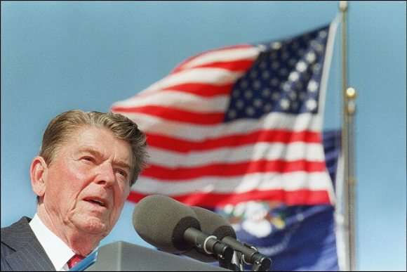 Thanks, Ronald Reagan: Today's 'Kill It to Save It' Politics Are Not New - Rewire