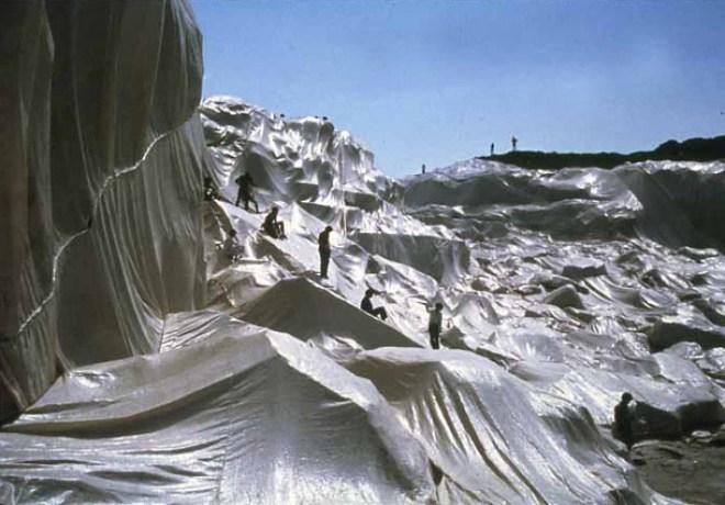 Christo - Wrapped Coastline