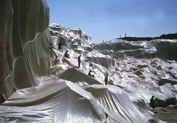 Christo - Wrapped Coastline