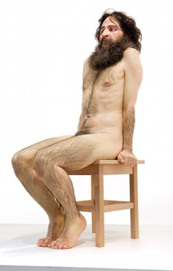 Wild man 2005 © Ron Mueck courtesy Anthony d'Offay, London