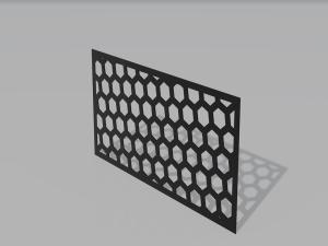 Panel ogrodzeniowy HoneyComb