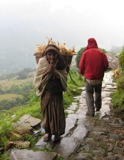 Trekking in Nepal 2009