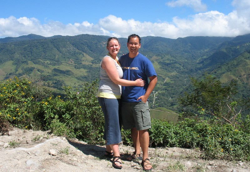 Tlell and Rex in Costa Rica