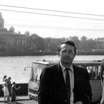 Г. Мелков, І. Круценко. Семінар по спінових хвилях (Санкт-Петербург), 1984 р.