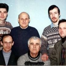 А. Гордон, Ю. Нечипорук, В. Бобков, О. Серга, В. Микитюк, О. Нечипорук, лабораторія функціональної магнітної електроніки, 1997 р.