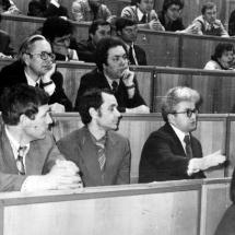 Засідання наукового семінару кафедри, 80-ті роки ХХ ст.