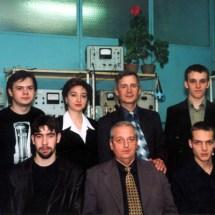 Творчий колектив лабораторії інтегральної оптики, квітень 2002 р.