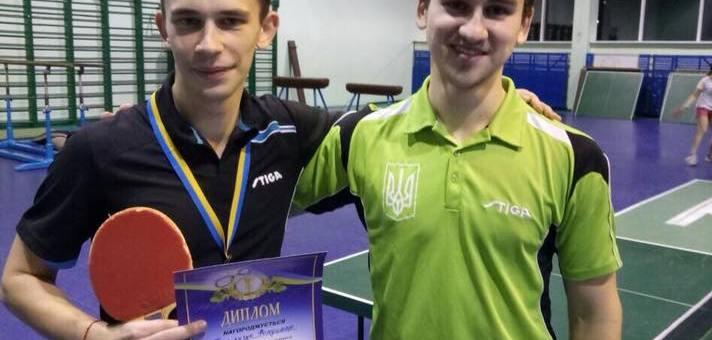 Бронза в змаганнях з настільного тенісу