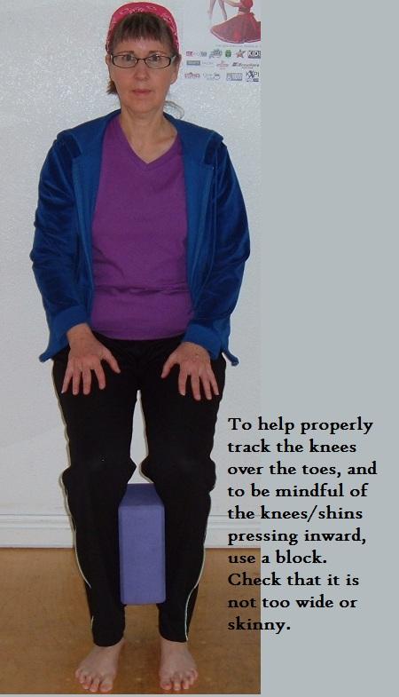 PROM  knees  Rexburg Yoga Teacher Reference
