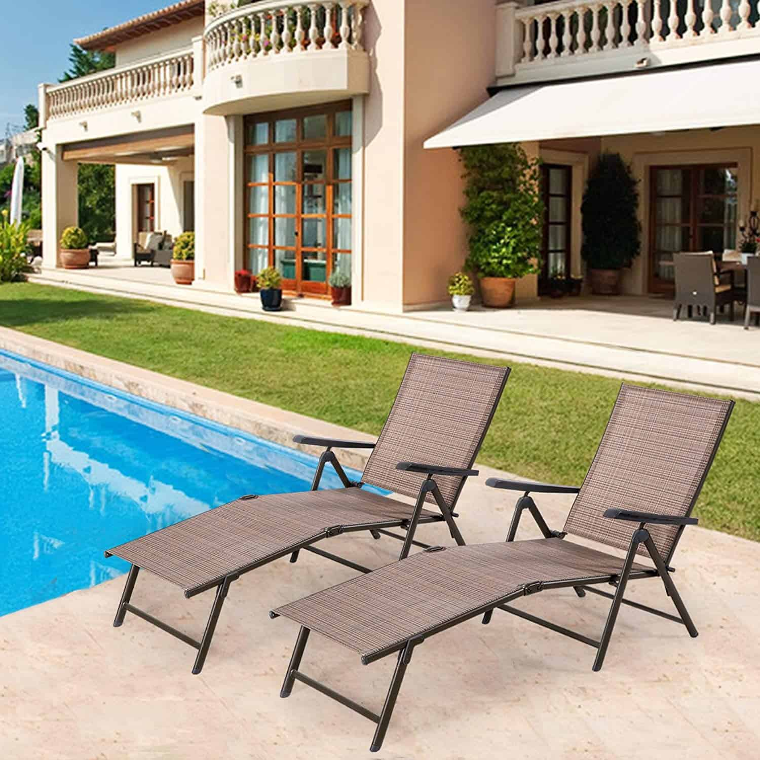 what are pool chairs made out of eddie bauer high chair recall best the rex garden take that hotel poolside experience into your home with this chaise lounge for it comes in a set 2 4 and 6 is durable