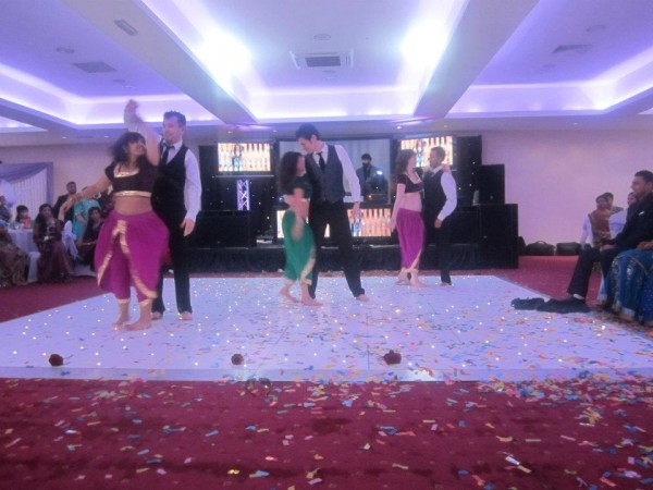 Dance Performing At An Indian Wedding Party!
