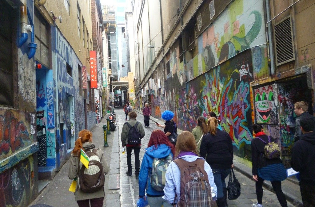 Peeking at the Street Art of Melbourne