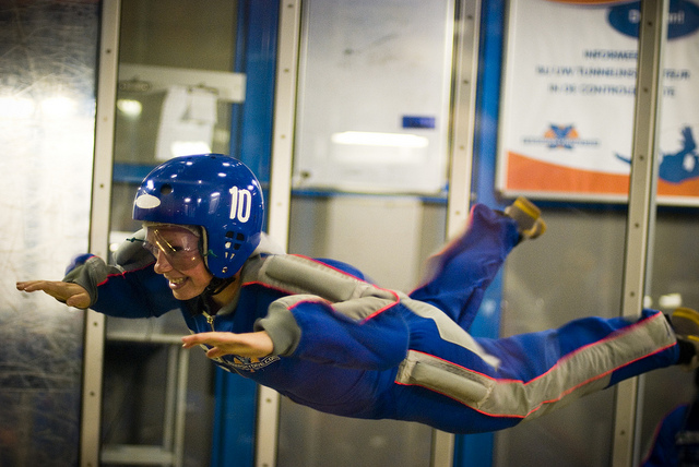 COMPETITION: Win Indoor Skydiving For Two!