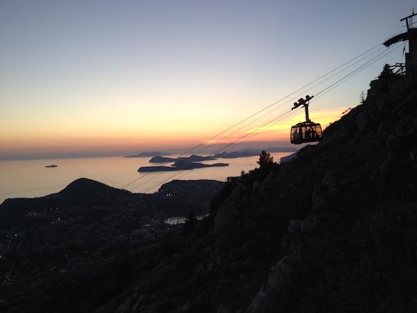 Dubrovnik, Mount Srd, Dubrovnik Cable Car