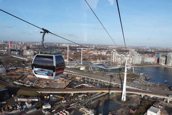 Bite In London, Emirates Air Line, Cable Car