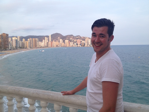 Handsome Travel Blogger in… Benidorm, Spain