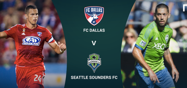 Seattle Sounders – Dallas FC (Vuelta MLS Cup)
