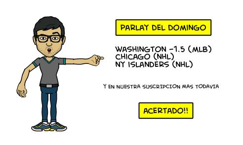 Parlay gratis ganador dominguero