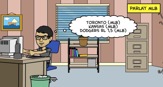18-8-2015   Parlay de MLB