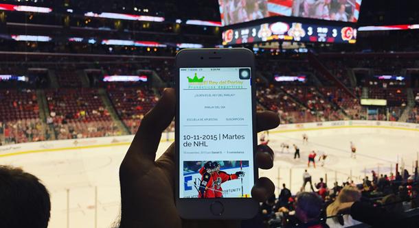 Pronósticos de NHL, in situ