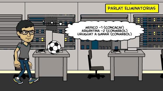 29-3-2016 | Parlay Eliminatorias Mundial 2018