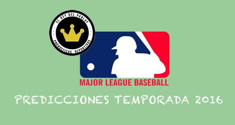 MLB – Predicciones 2016