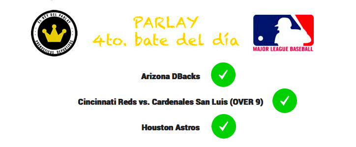 parley acertado mlb picks