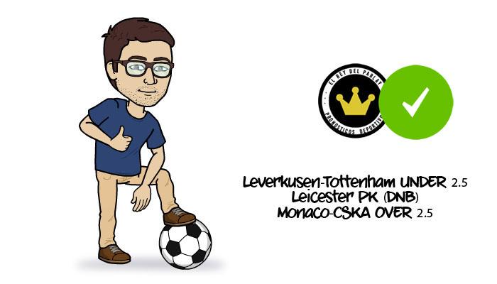 Parlay de Champions League ¡Acertado!