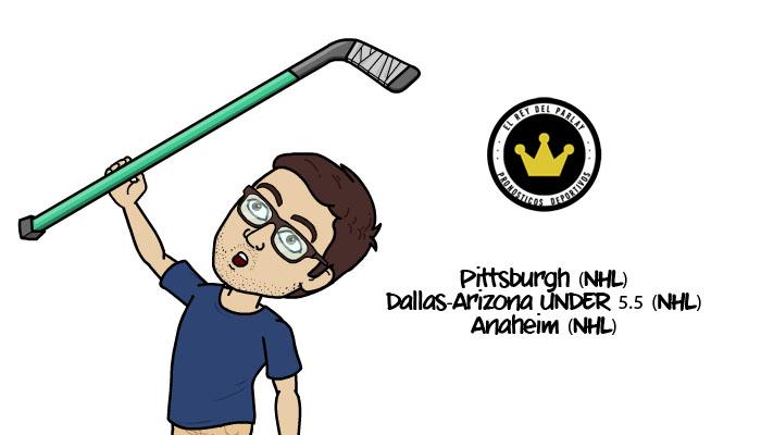 27-12-2016 |Parlay gratis de NHL
