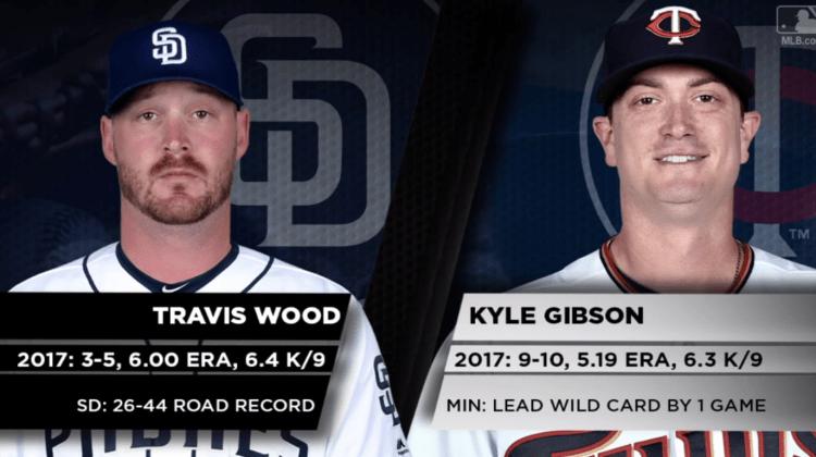 Pronósticos MLB   El 4to. bate del día  12-9-2017