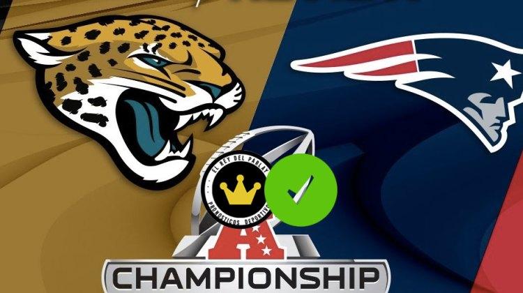 Jacksonville Jaguars vs. New England Patriots ¡Acertado!