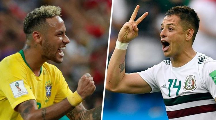 México vs. Brasil   8vos. de final Mundial Rusia 2018   2-7-2018