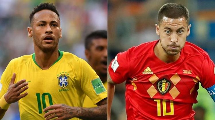 Brasil vs. Bélgica   4tos. de final Mundial Rusia 2018   6-7-2018