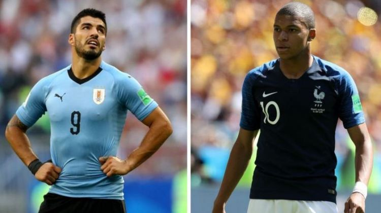 Uruguay vs. Francia   4tos. de final Mundial Rusia 2018   6-7-2018