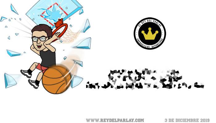 3-12-2019 | Parlay gratis 100% basket
