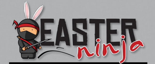 Easter Ninja Church Conference Logo