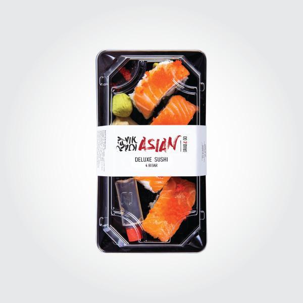 Deluxe sushi - 4 bitar - Reykjavík Asian