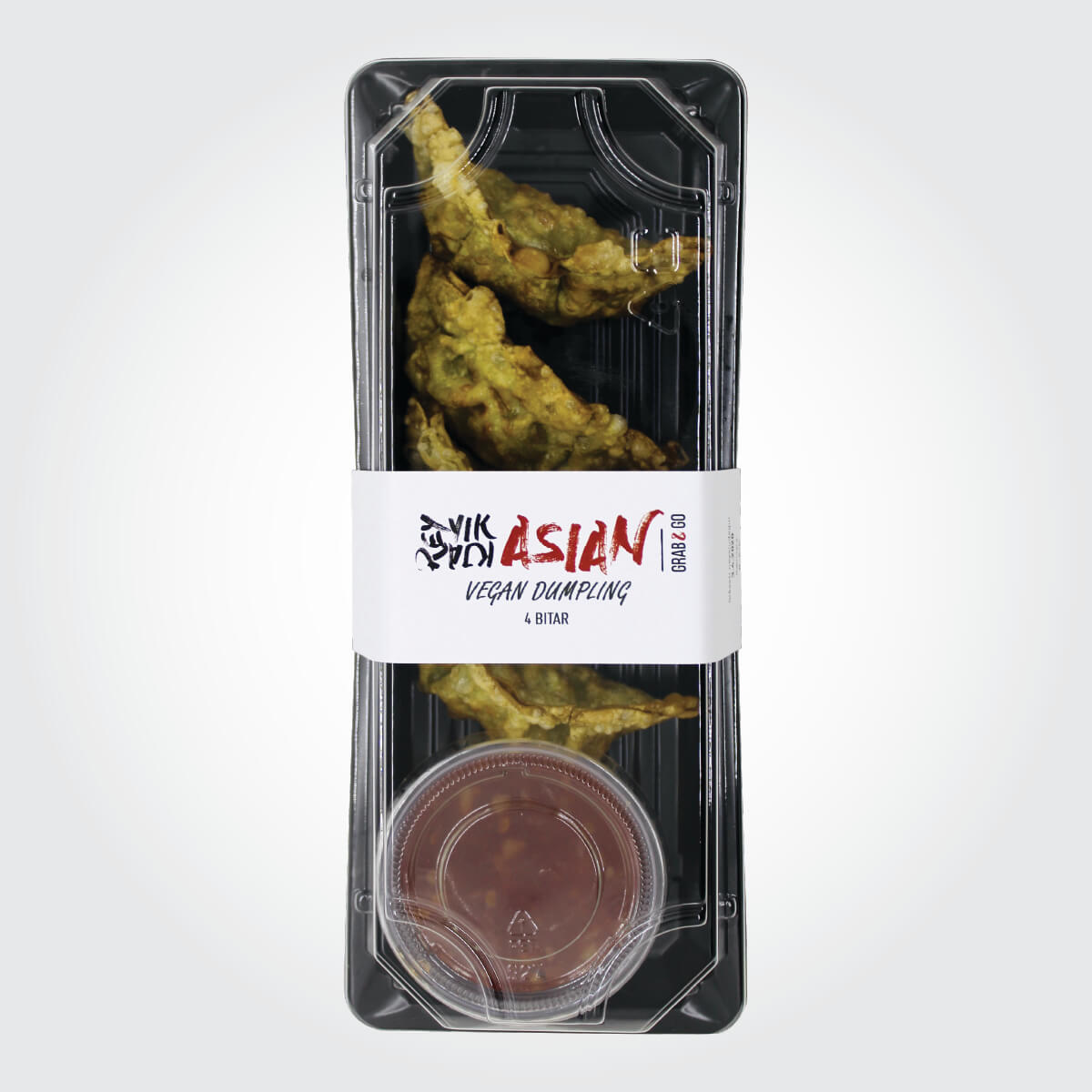 Vegan dumplings - 4 bitar - Reykjavík Asian