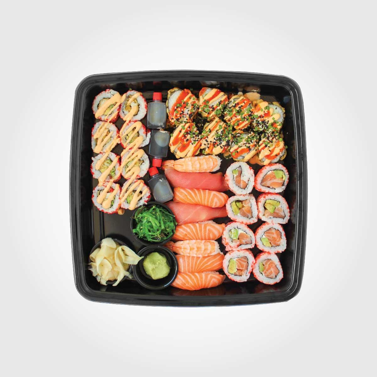 Veislubakkar - Klassískt sushi - Reykjavík Asian