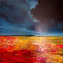 The Letting Go Oil on canvas 92cm x 92cm Art Eye Gallery