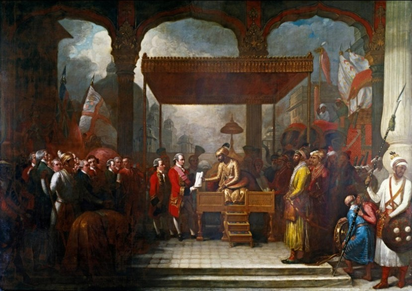 Shah_'Alam_conveying_the_grant_of_the_Diwani_to_Lord_Clive