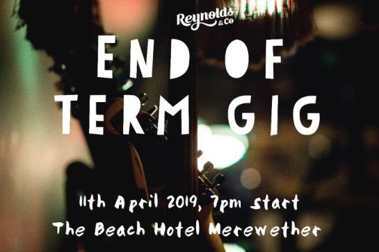 end of term gig
