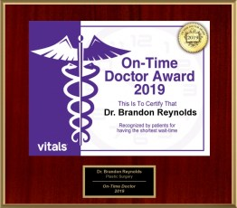 On-Time Doctor Award - 2019
