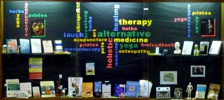 alternative medicine display